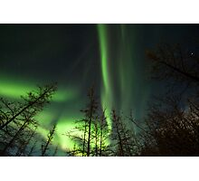 Yukon Northern Lights 1 Photographic Print