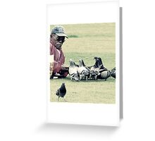 Spreading it Greeting Card