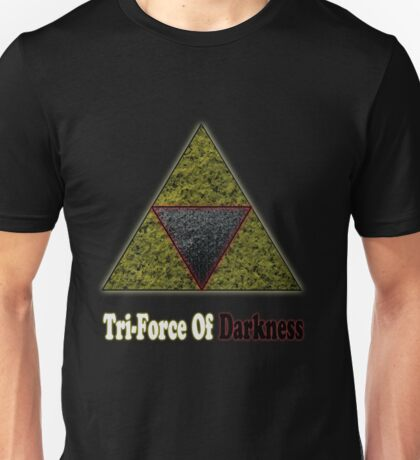Tri-Force Of Darkness Unisex T-Shirt