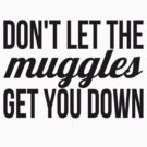 Don't Let The Muggles Get You Down by rexannakay