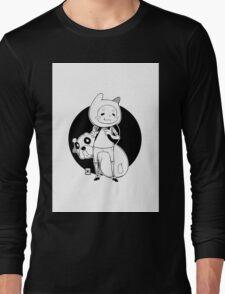Designer Finn and Jake Long Sleeve T-Shirt