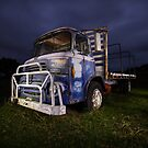 Light Painted Truck, Albion Park NSW by Kerrod Sulter