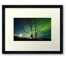 Yukon Northern Lights 2 Framed Print