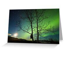 Yukon Northern Lights 2 Greeting Card