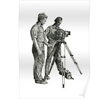 Travel and adventure with a camera. Poster