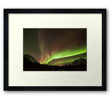 Yukon Northern Lights 4 Framed Print