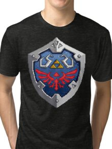 Hylian Shield Tri-blend T-Shirt