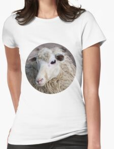 Sheep Womens Fitted T-Shirt