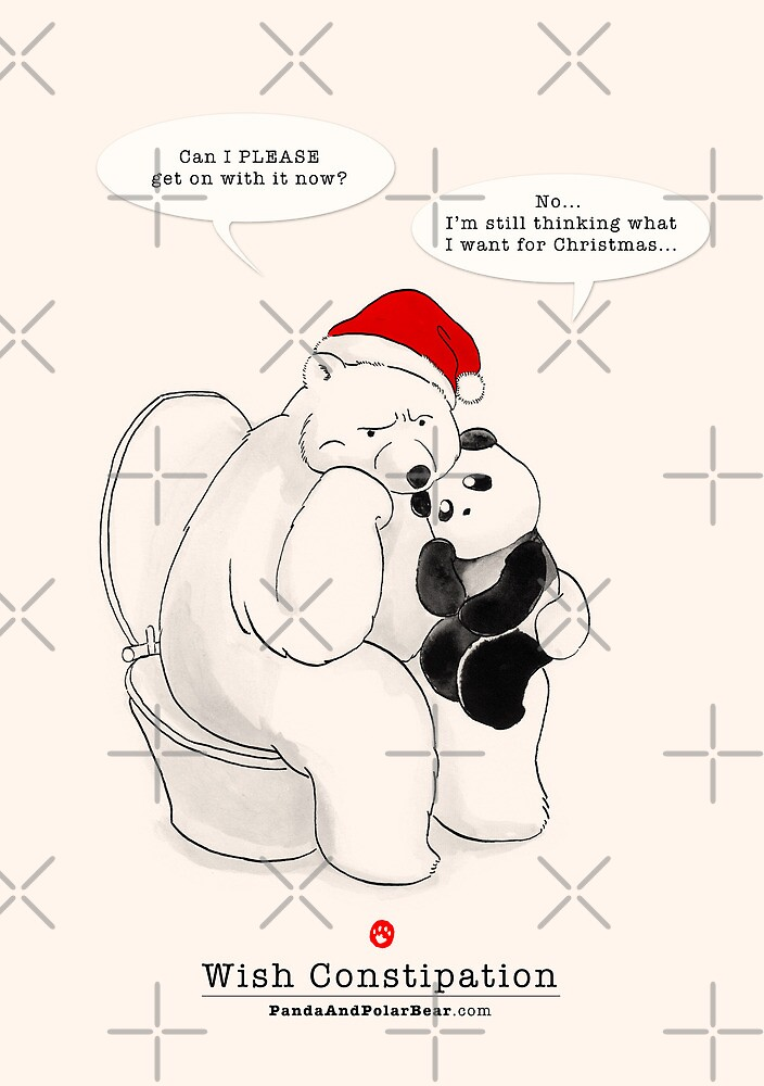 Wish Constipation by Panda And Polar Bear
