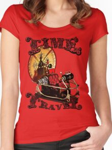 Time Travel Women's Fitted Scoop T-Shirt