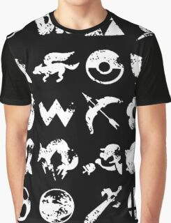 Grunge Smash Graphic T-Shirt