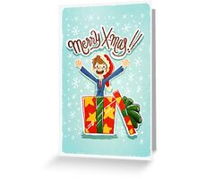 Merry X-mas! Tenth Doctor Greeting Card