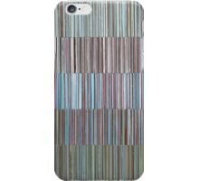 LINEAR 5 Panels Blue Pinks iPhone Case/Skin