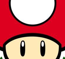 Mushroom Cup Sticker