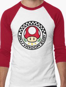Mushroom Cup Men's Baseball ¾ T-Shirt