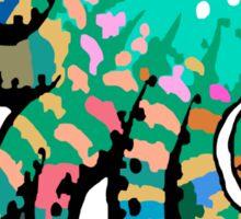 Funky Octopus Sticker