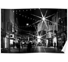 Christmas Bustle - Canterbury 2 Poster