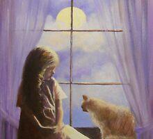 GIRL IN THE WINDOW by Dian Bernardo