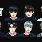 BTS - Run Again. by auriee