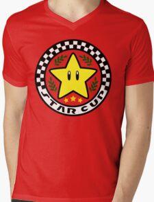 Star Cup Mens V-Neck T-Shirt