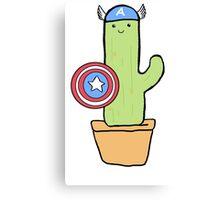 Cactus America Canvas Print