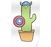 Cactus America Poster