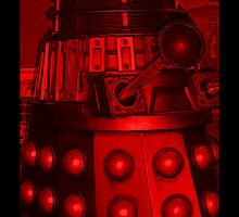 Red Dalek by Susan  Bloss