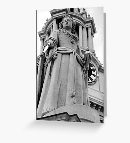 Queen Victorias Lightsaber Greeting Card