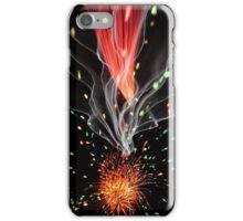 Firework Trail iPhone Case/Skin