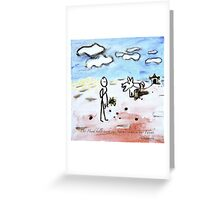 Bellen Greeting Card