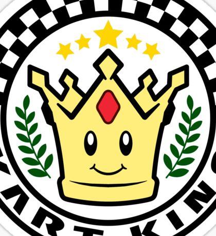 Kart King Sticker