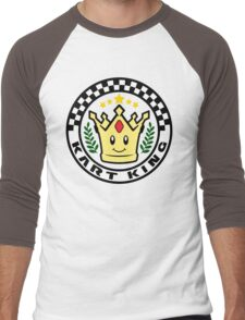 Kart King Men's Baseball ¾ T-Shirt