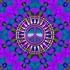Purple Haze Peace Energy iPhone iPod Cases by webgrrl