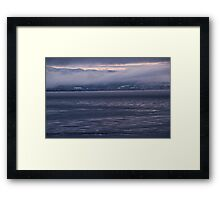 Colors of Finnmark on a foggy day I Framed Print