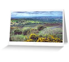 Clee, Shropshire Greeting Card