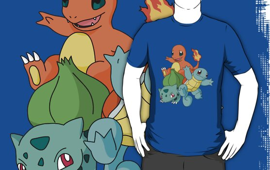 Pokemon Starters: Gen 1 by PPdragon
