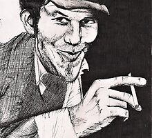 Tom Waits by ForeignAffairs