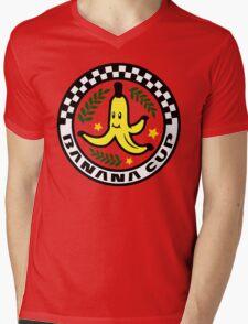 Banana Cup Mens V-Neck T-Shirt
