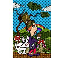 Mad Hatter & Rabbit Photographic Print