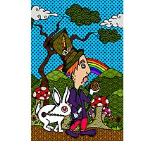 Mad Hatter & Rabbit Photographic Print