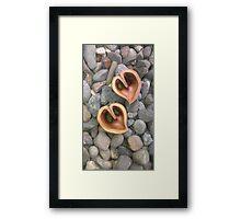 Southern Lake Love Framed Print
