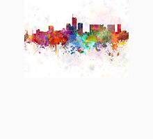 Essen skyline in watercolor background Unisex T-Shirt