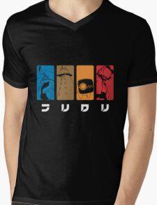 FLCL Mens V-Neck T-Shirt