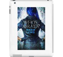 Who's Afraid? Cover Art iPad Case/Skin