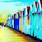 Southwold Beach Hut Ladies by janett8