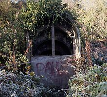 Air Raid Shelter by Byron Kirk