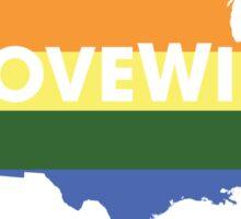 #LoveWins ♥ (NO PROFIT TAKEN!) Sticker