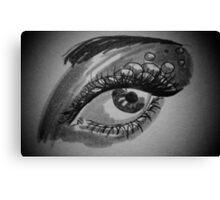 Eye Scales Canvas Print