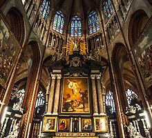 no2 - Basilica of the Holy Blood - Bruges by Nickfree1