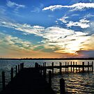 Sunset in Bear Point by schizoren